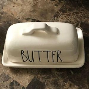 🎈🎈Rae Dunn BUTTER Dish Tray Brand New